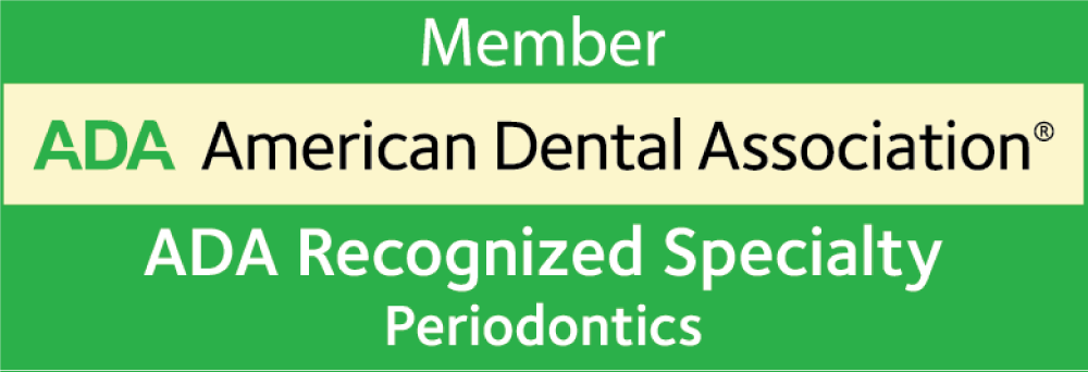 American Dental Association Member Recognized Specialty Periodontics logo